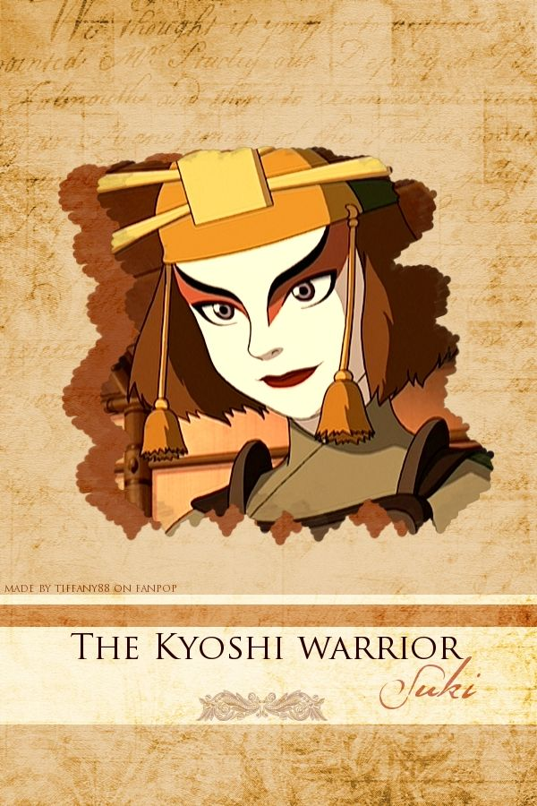 Avatar: The Last Airbender. Being a Kyoshi warrior or a firebender