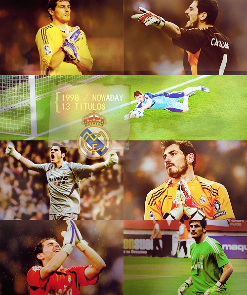Real Madrid - The phenomenal keeper Iker Casillas