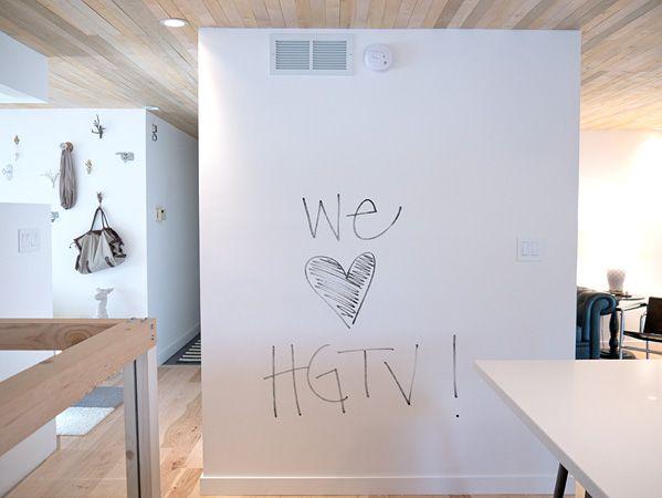 Mensajes en las paredes: pintura de borrado en seco | La Garbatella: blog de decoración de estilo nórdico, DIY, diseño y cosas bonitas.