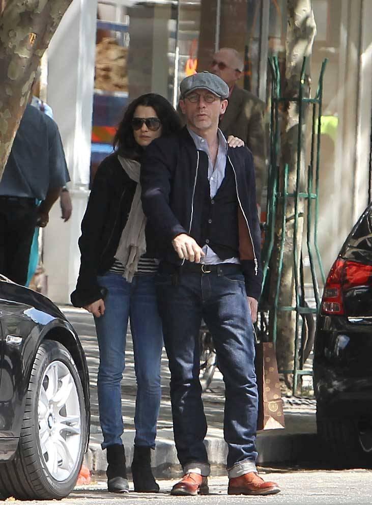 Rachel Weisz & Daniel Craig street style
