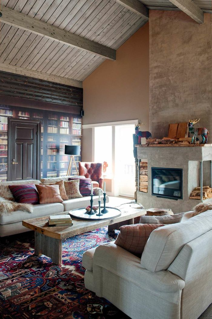 10+ best ideas about Wohnzimmer Gemütlich on Pinterest Big sofa - raffrollo f r wohnzimmer