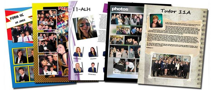 professional yearbook templates