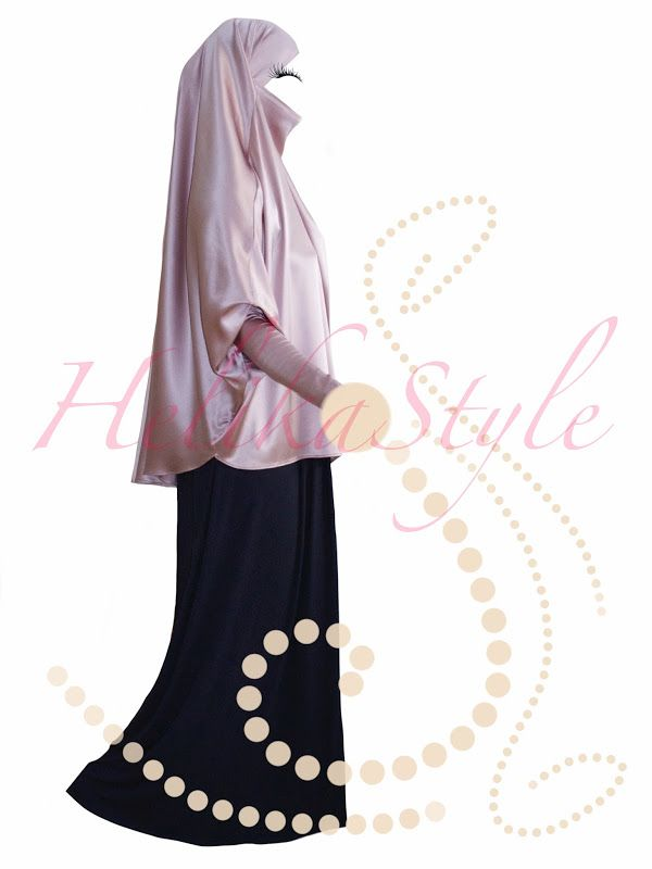 HelikaStyle Eid French Jilbab. Sew with me!