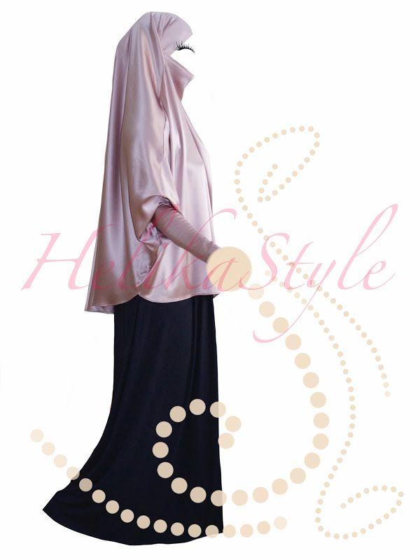 HelikaStyle Eid French Jilbab. Sew with me!