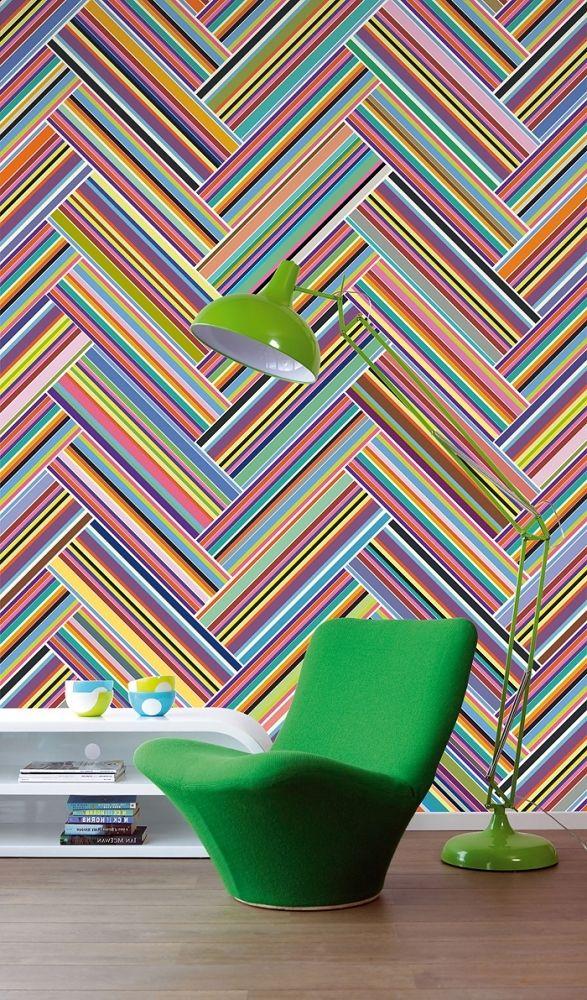 Геометрические рисунки в интерьере - Сундук идей для вашего дома - интерьеры, дома, дизайнерские вещи для дома