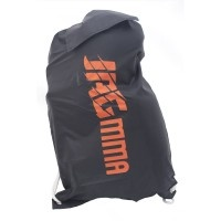 The JAGmma Light gym bag is a really lightweight bag which can fit boxing/muay thai/mma gloves plus shin guards plus shorts with room to spare for mouth guard, t-shirt etc.