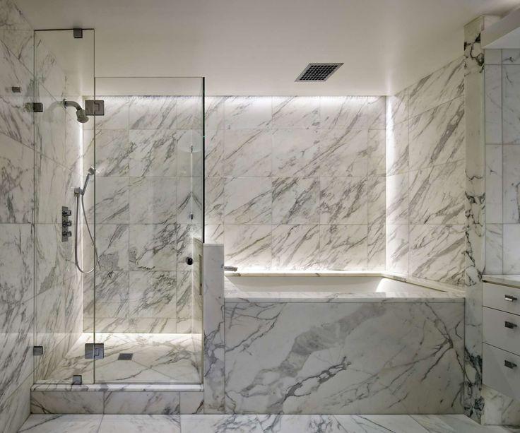 Best Beautiful Bathroom Inspiration Images On Pinterest - Marble slab bathroom