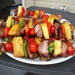 Sensational Sirloin Kabobs Allrecipes.com