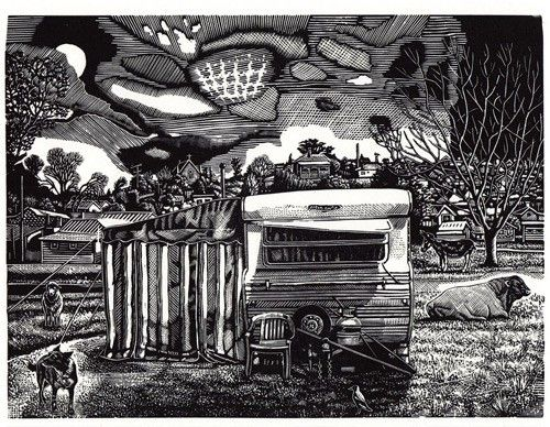 David Frazer. Wood Engraving