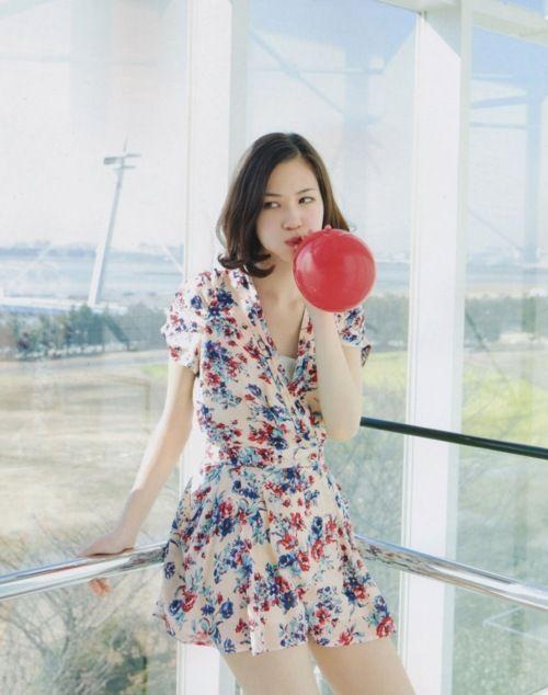 Kiko Mizuhara.  Love this dress!