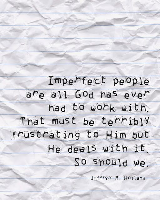 Something I need to always remember...patience and tolerance towards others because God has so much when it comes to my imperfections