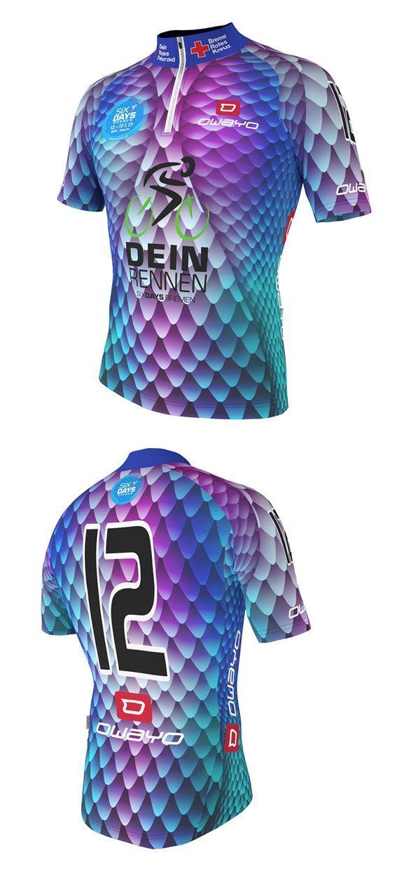 """Trikot Design für die SIXDAYS Bremen """"Dein Rennen"""" #owayo #owayocycling #radfahren #trikot #design #3d #cycling #jersey #custommade #makeityours #bike #bikelifestyle #style #print #alloverprint #allovertheworld #snakestyle #fashion #snake"""