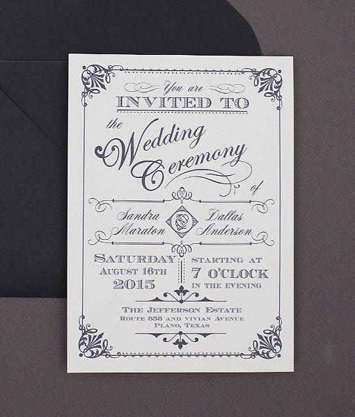 DIY Ornate Vintage Type Wedding Invitation from #downloadandprint. www.downloadandprint.com http://www.downloadandprint.com/templates/ornate-vintage-type-wedding-invitation/ $18.00