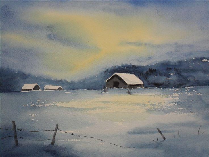 Bilder - hemsida med Konst. akvareller, olja, sidenmåleri, utställningar