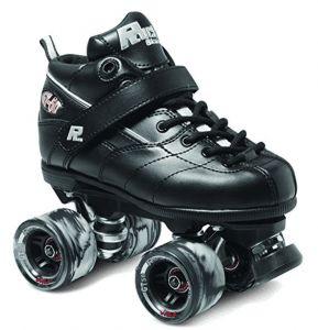 black-roller-skate