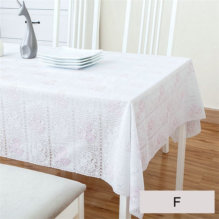 テーブルクロス テーブルカバー PVC 防水撥水 田園 おしゃれ ダイニング 食卓 チェリー 138*160cm
