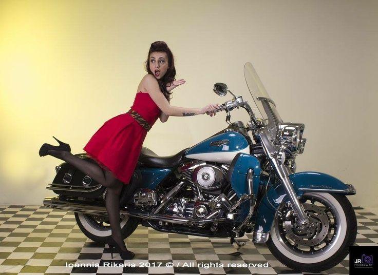 Pin up girl Model: Violet Succubus  Photographer: John Rik