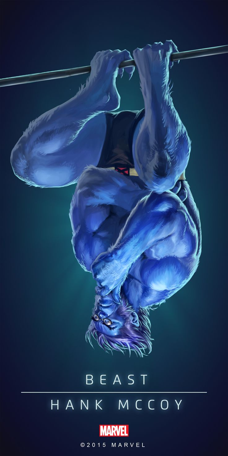 #Beast #Fan #Art. (BEAST - HANK MCCOY IN: MARVEL'S PUZZLE QUEST!) BY: AMADEUS CHO! (THE * 5 * STÅR * ÅWARD * OF: * AW YEAH, IT'S MAJOR ÅWESOMENESS!!!™) [THANK U 4 PINNING!!!<·><]<©>ÅÅÅ+(OB4E)(IT'S THE MOST ADDICTING GAME ON THE PLANET, YOU HAVE BEEN WARNED!!!)