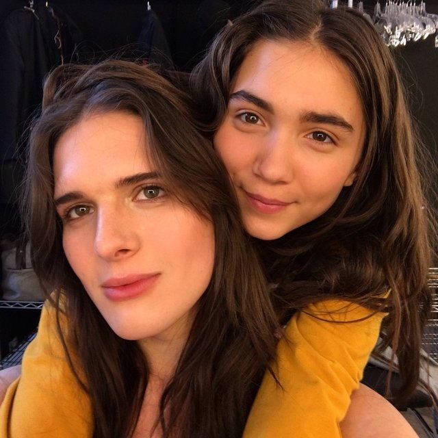Rowan Blanchard and Hari Nef