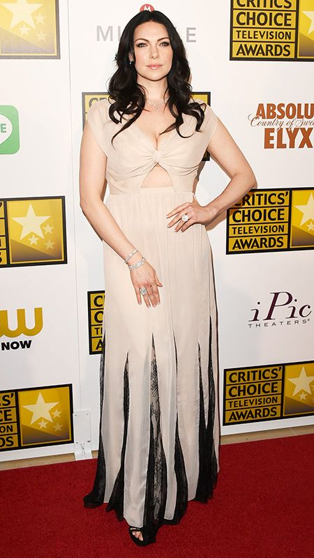 The 2014 Critics' Choice Television Awards Red Carpet - Laura Prepon