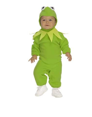 I need a baby to put in this costume!  Kermit the Frog Halloween Costume!!