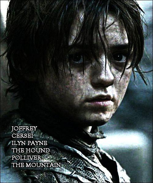 Game of Thrones Arya Stark Fan Art #AryaStark #gameofthrones #whitewalkersnet…