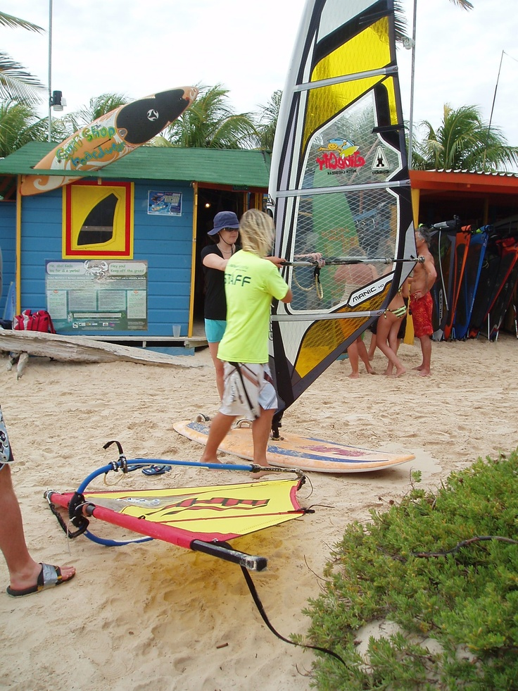 learn to #windsurf in #Bonaire
