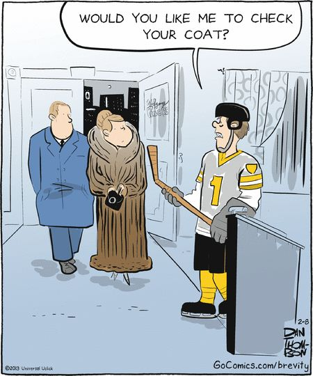 Image result for humorous cartoon about hockey