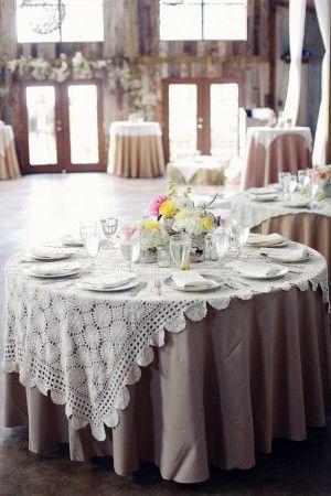 Lace Wedding Linens