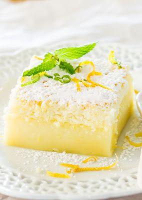Лимонный пирог или 3-х слойное удовольствие - InVkus