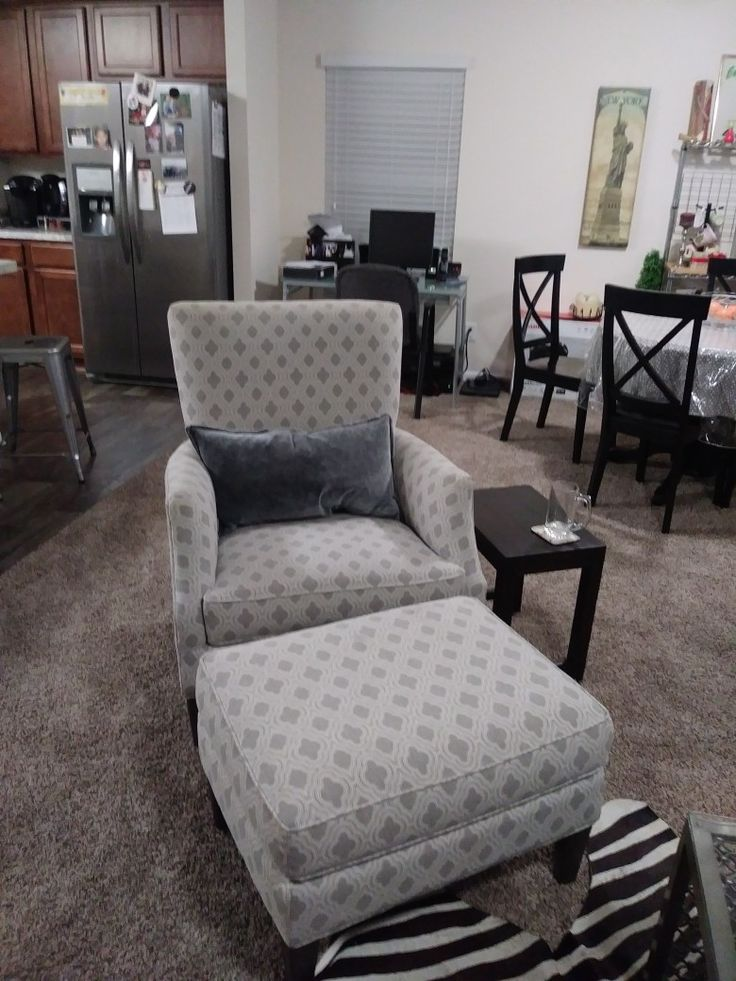 From Arhaus Furniture. Desmond With A Accent Pillow.