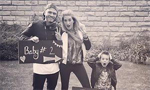 Charley Webb and Matthew Wolfenden expecting second baby