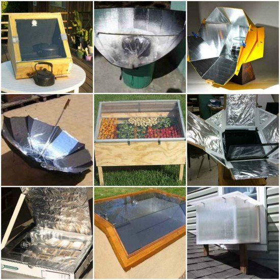 how to make solar cooker model