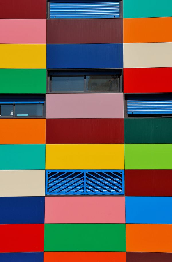 Color Blocked Architecture - Click For More