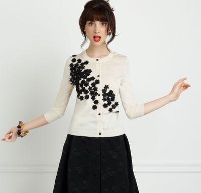 DIY sweater ReDo, Kate Spade (fave designer!) inspiration