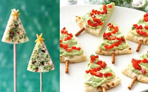 Ideas para aperitivos de Navidad / Idéias para aperitivos de Natal / Christmas Appetizer