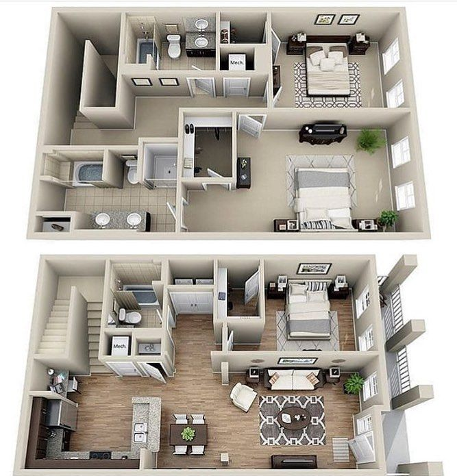 House Two Floors 40 Bedrooms And 40 Suite 40 Toilets House In 400409 Inspiration Floor Plan 2 Bedroom Apartment Style Painting