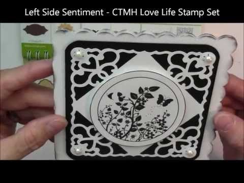 CTMH Cricut Art Philosophy Cartridge Using the Card Feature.  More free videos and tutorials on my blog at http://purpleglocreations.blogspot.com.