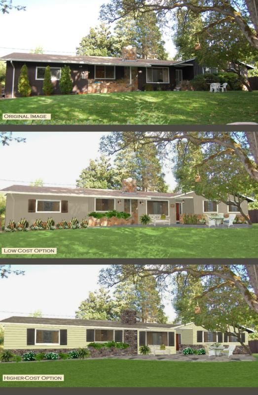 Exterior Ranch House Colors 42 best ranch homes 60s style images on pinterest   painted brick
