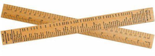 William Shakespeare Tudor Timeline Wooden Ruler - 12