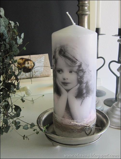 Hvordan dekorere lys med serviett - veldig enkelt og en flott gaveide!