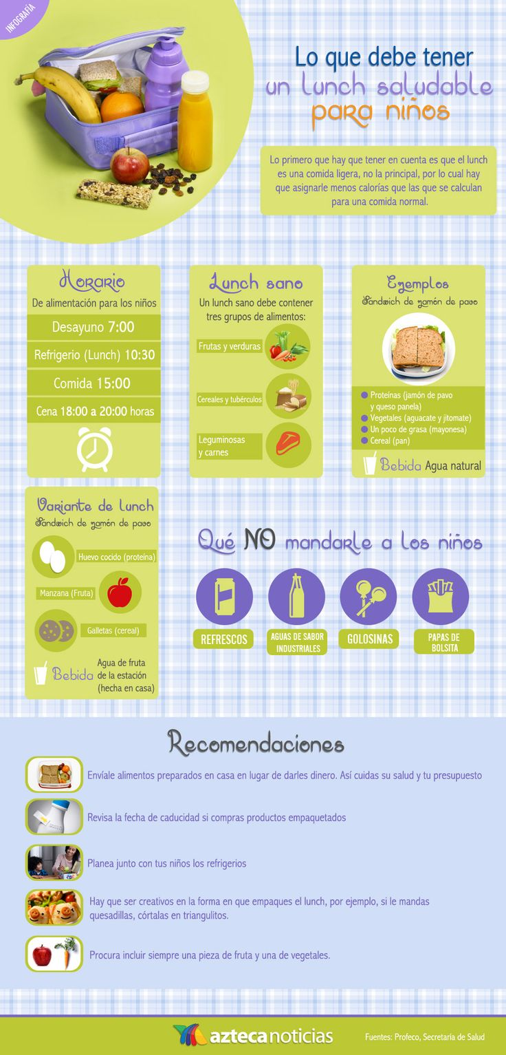 33 best comida lonchera saludable images on pinterest for Comida saludable para ninos
