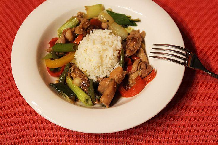 Restované kuře se zeleninou   Asijská kuchyně jen tak z hlavy - Powered by @ultimaterecipe