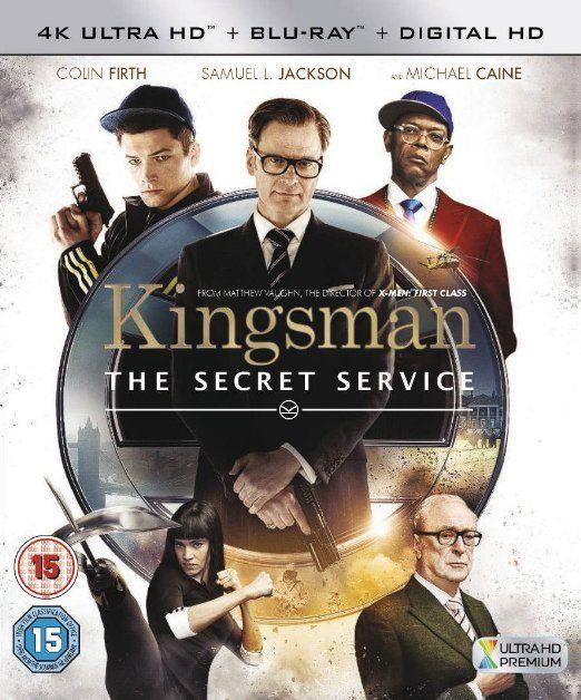 Kingsman [4K Ultra HD Blu-ray + Digital Copy + UV Copy] [2015]