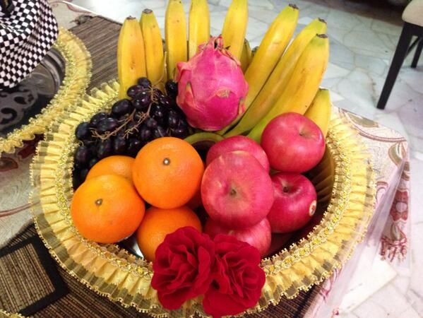 indian engagement tray decoration - Google Search