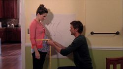 Brooke and Julian's Baby Bump board - one tree hill 8x22