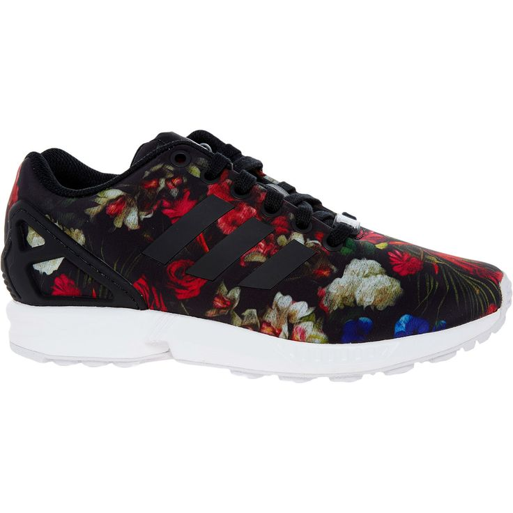 Black Floral ZX Flux Trainers - Trainers - Shoes - Women - TK Maxx