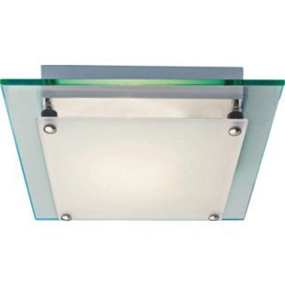 Buy Square Glass Flush Fitting at Argos.co.uk - Your Online Shop for Ceiling and wall lights.