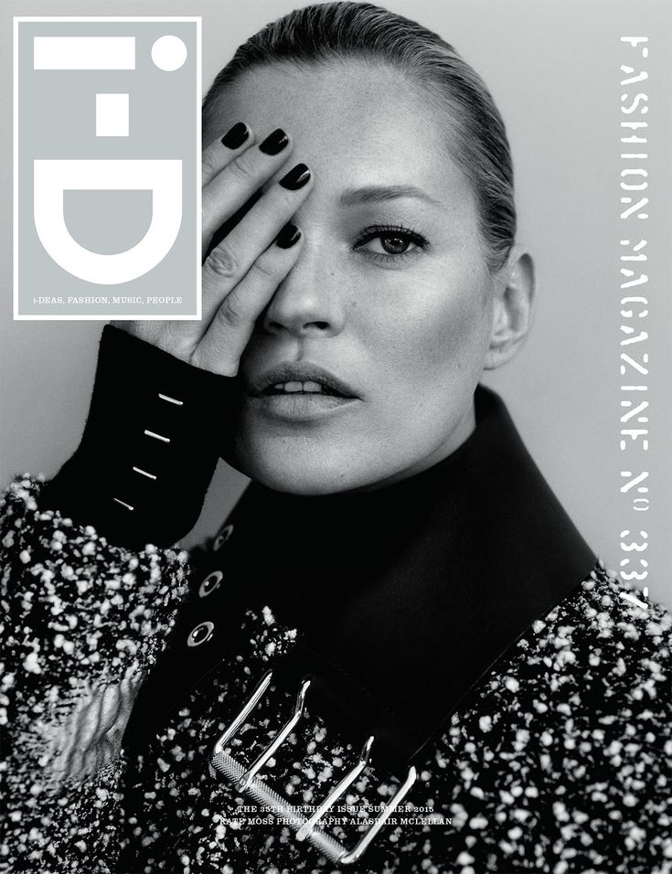 Kate Moss by Alasdair McLellan for i-D Magazine 35th Anniversary Birthday Issue Summer 2015