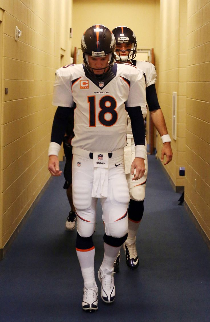 Peyton Manning. One of the last true role models in professional athletics.
